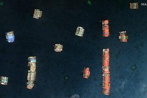 中共220艘漁船集結牛軛礁 菲律賓加派軍艦巡弋
