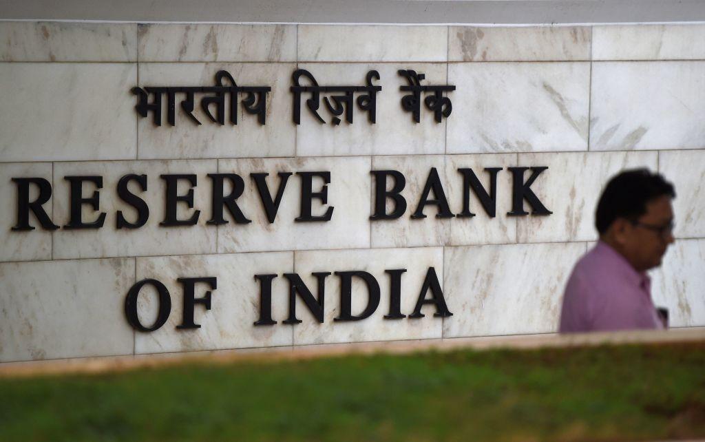 印度今(3月26日)公佈外匯儲備按周增加0.04%至5,823億美元。(PUNIT PARANJPE/AFP via Getty Images)