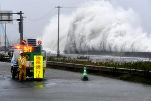 颱風獅子山席捲日本東北北海道