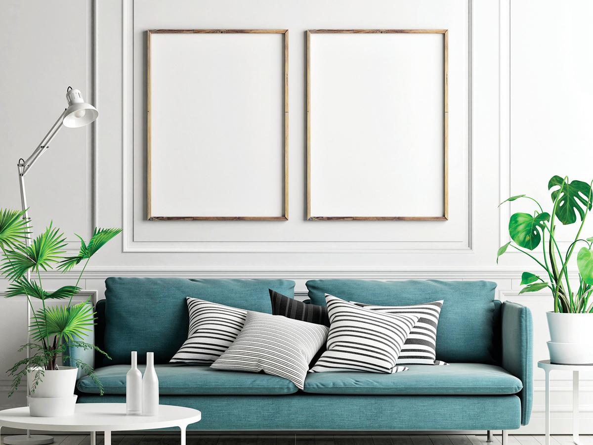 白色油漆跟許多色調都很搭配。