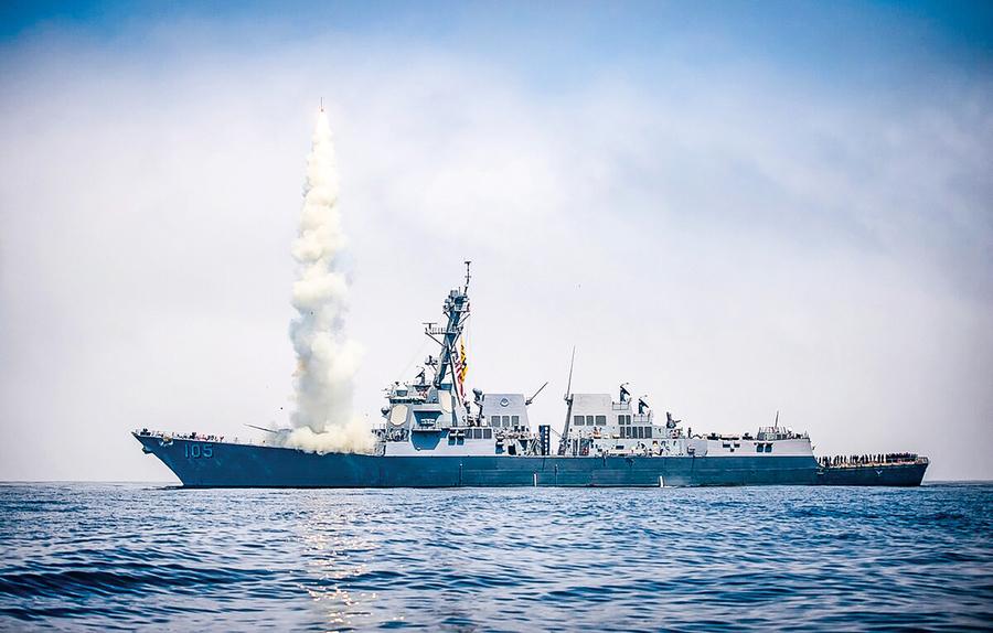 美海軍將接收第五批次戰斧導彈