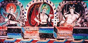 敦煌尋夢 西方信仰與中原藝術的交融 (上)