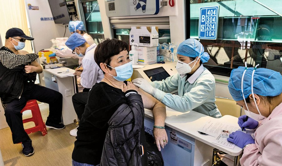 不打疫苗不讓進市場!中共強制施打疫苗內幕曝光