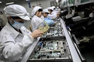 富士康從中國逐步撤資 中國失業潮面臨壓力