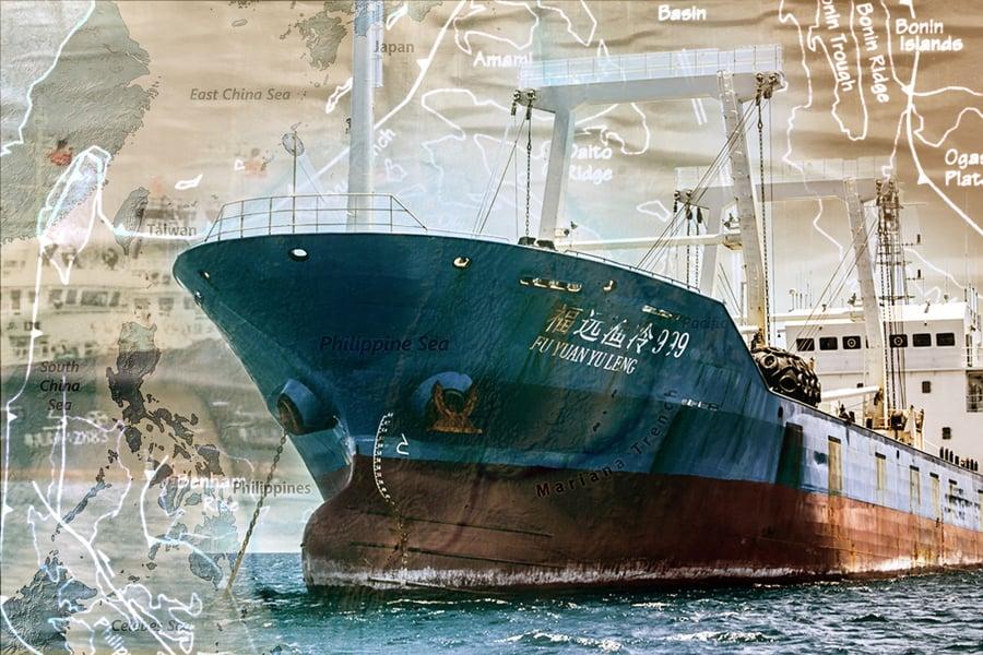 南海又出麻煩 220艘中共漁船滯留菲海
