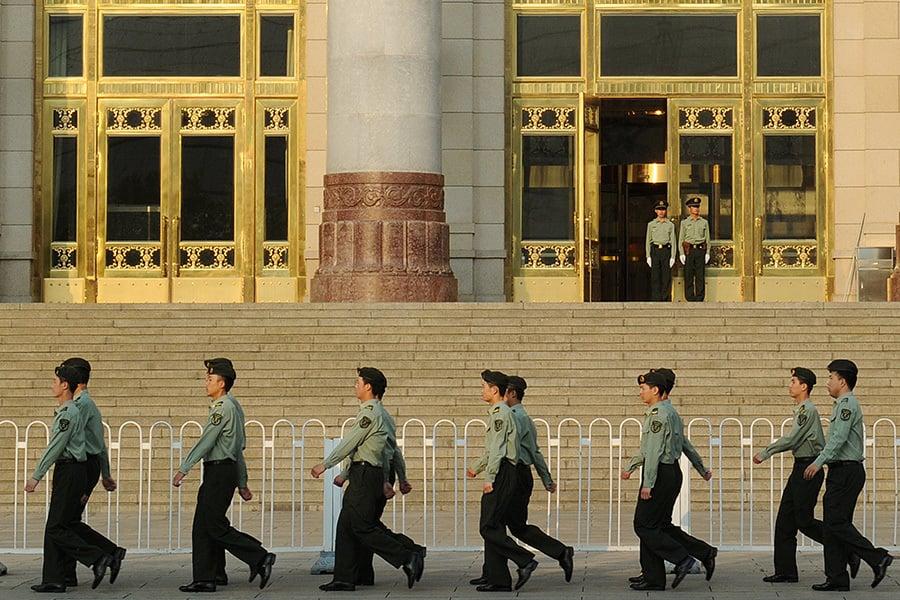 近年來,法官被殺案件在大陸頻頻曝光。有評論認為法官被殺案發率,中國堪稱世界之最,這是中國法治的現狀,也折射出中共公檢法系統空前腐敗、黑暗、亂象叢生。(AFP PHOTO/Mark RALSTON)