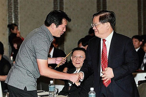 揭兩任文化部長與江澤民宋祖英劉雲山關係