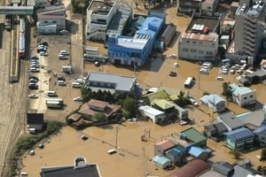 颱風獅子山襲日本釀11死 北海道河川潰堤