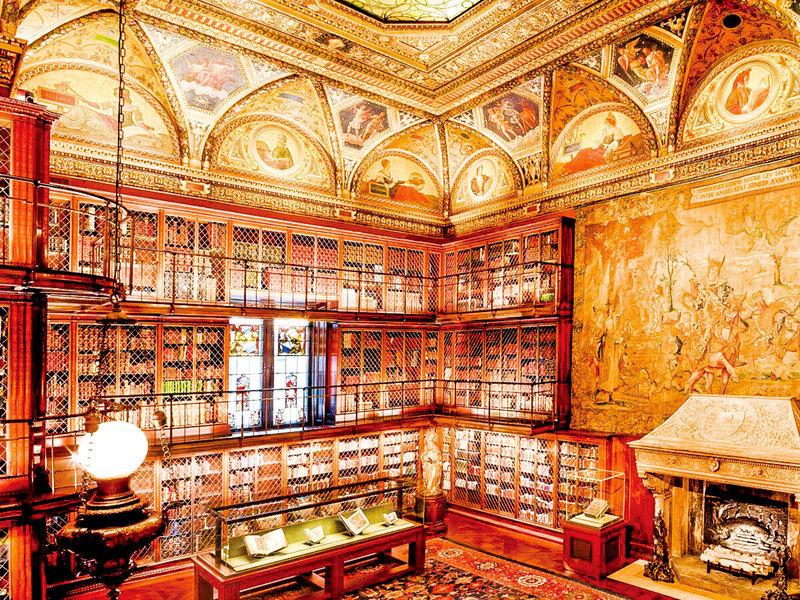 「摩根先生的珠寶盒」在美國重現歐洲古典建築