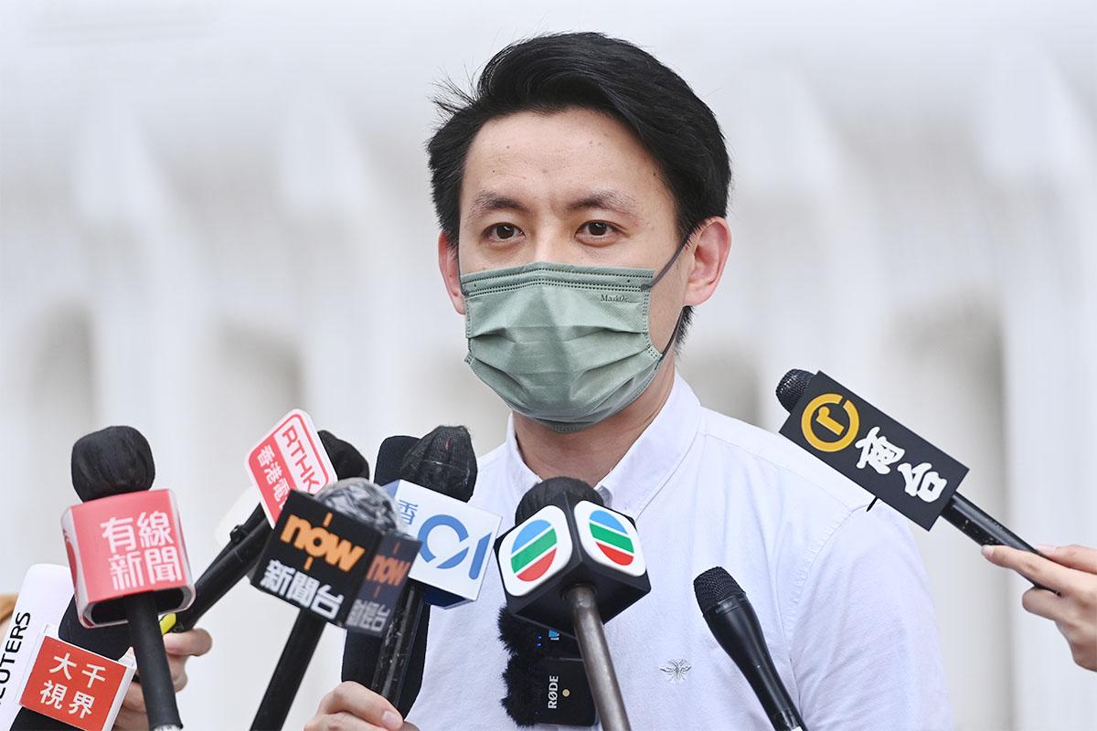 民主黨主席羅健熙表示,中共的修訂大幅減少制度中的民意代表,讓民意無法進入制度,對香港帶來更大困難。(宋碧龍/大紀元)