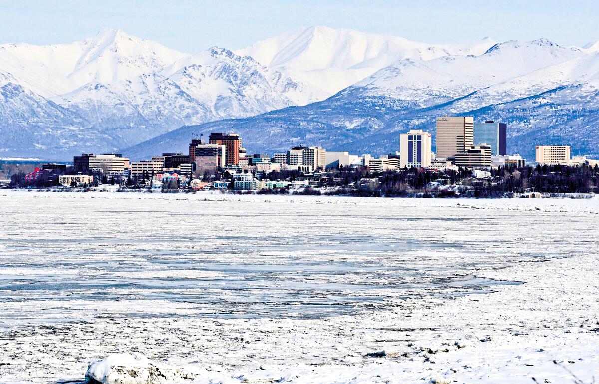 阿拉斯加州安克拉治(Anchorag)一景。(Pixabay)
