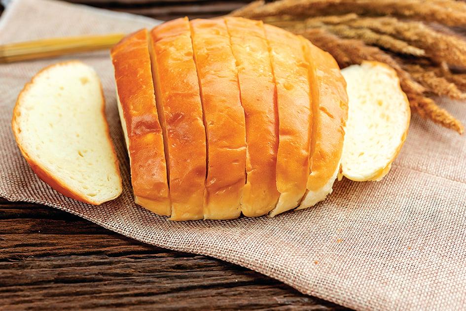 用剩薯蓉做成馬鈴薯麵包。
