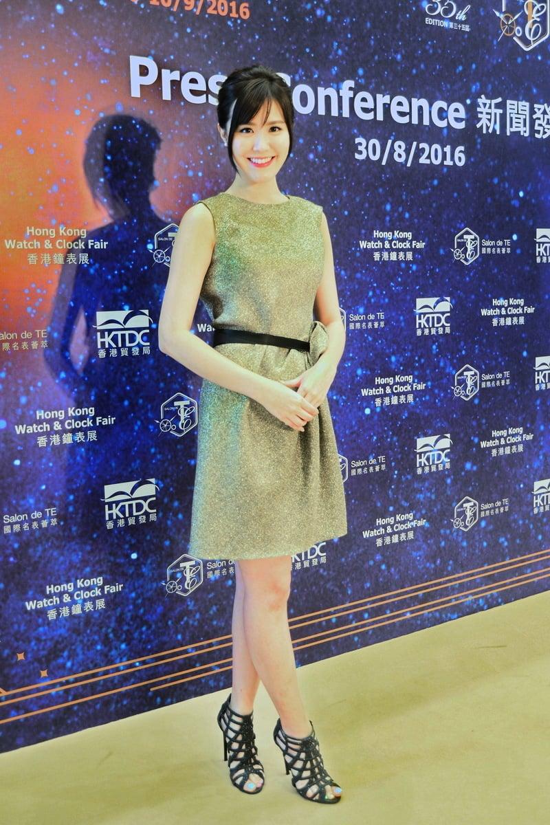 劉佩玥因《城寨英雄》劇集令她人氣上升,收入增加。(宋祥龍/大紀元)