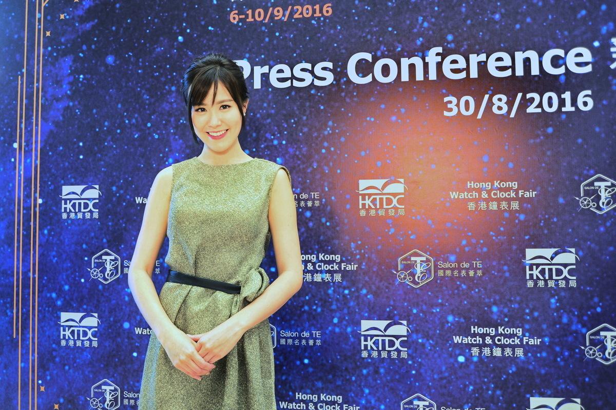 劉佩玥表示很多工作都在洽談中,其中包括要拍廣告。(宋祥龍/大紀元)