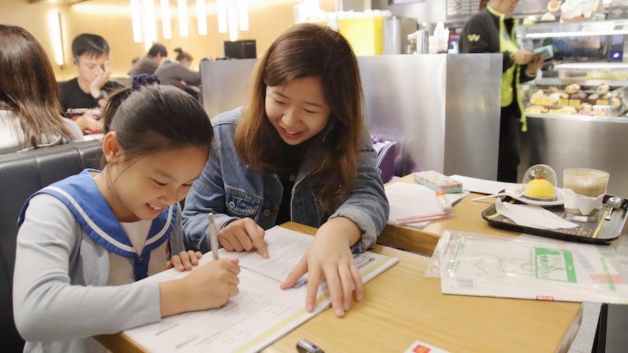 義師與學生一對一配對,在學業和心理上幫助他們。(受訪者提供)