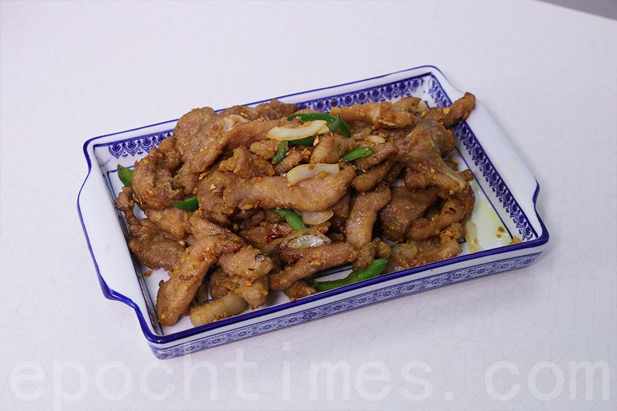 椒鹽肉排。(陳仲明/大紀元)