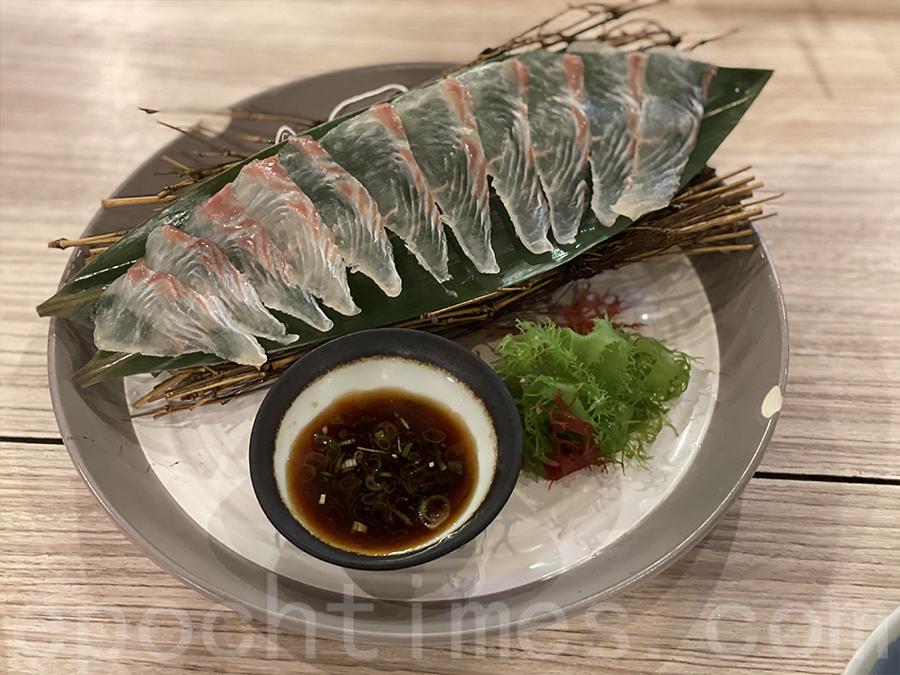 左口魚刺身。(Siu Shan 提供)