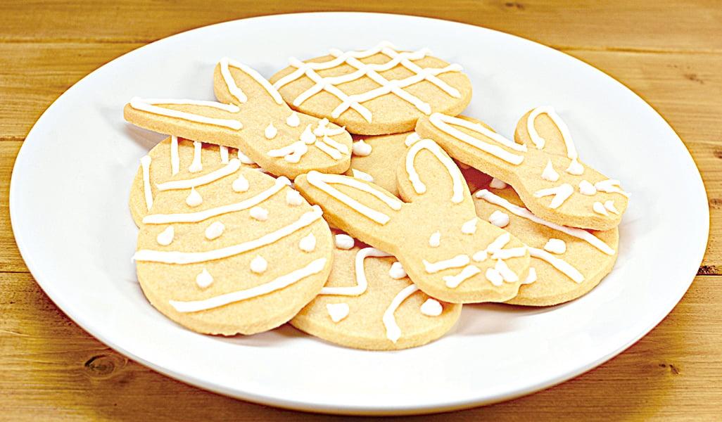 溫馨可愛的復活節餅乾,通常會讓家中孩子一起做。