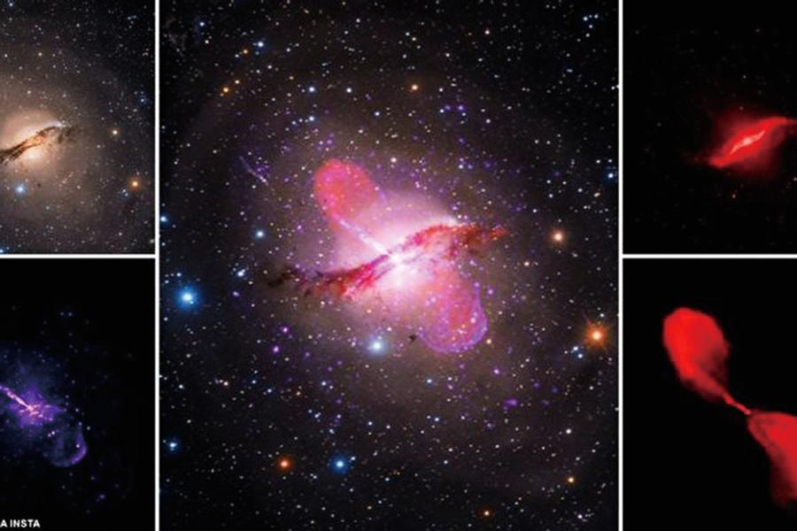 全天第五亮星系 NASA圖 獲二百萬粉絲點讚