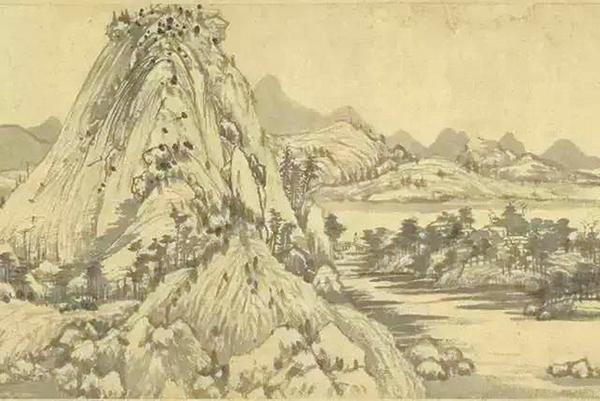 富春山水韻,六世望黃公(中)