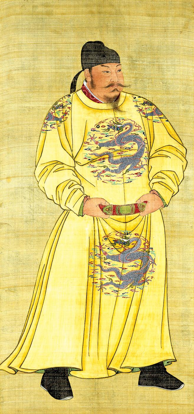 武德九年(626年)八月,唐太宗李世民登基,開啟了輝煌的「貞觀之治」。圖為唐太宗畫像。(公有領域)