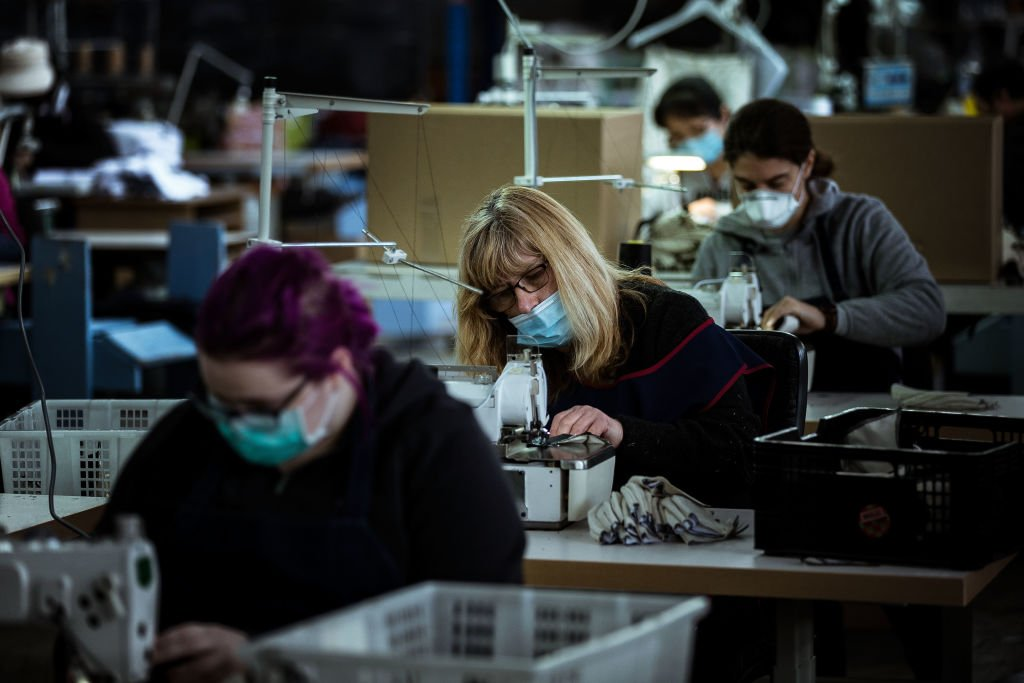 IHS Markit今(4月1日)公佈3月份澳洲製造業PMI為56.8,反映製造業商業活動正在擴張。(Darrian Traynor/Getty Images)