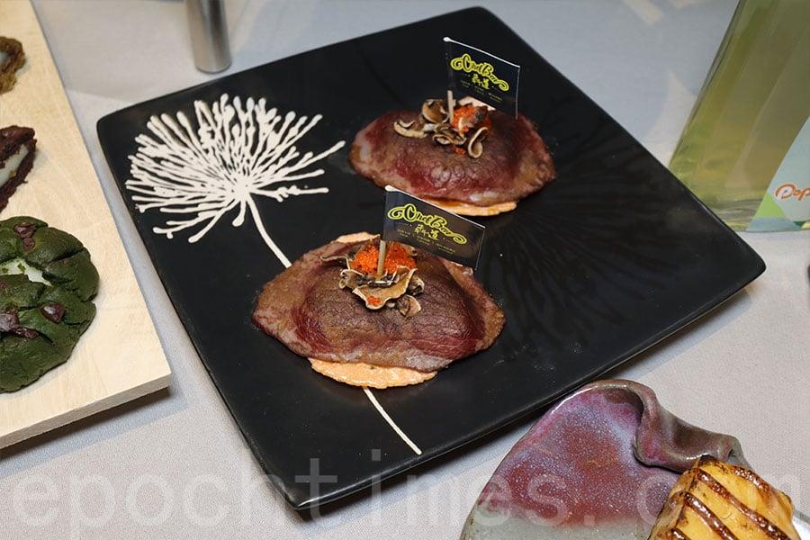 日式和牛美食。(陳仲明/大紀元)