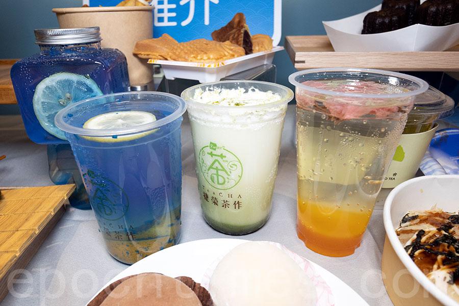 清爽的夏日飲品。(陳仲明/大紀元)