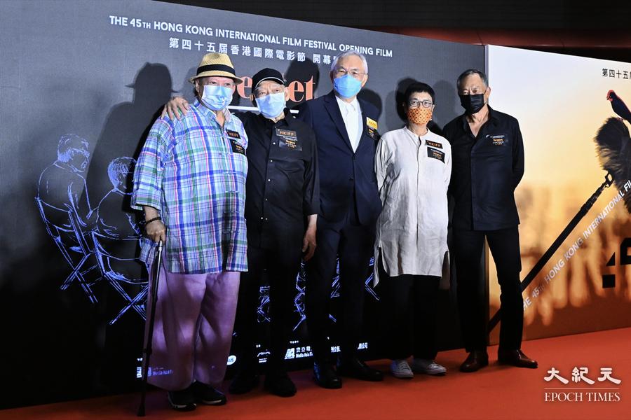 杜琪峯洪金寶亮相香港國際電影節  郭富城回應《風再起時》被取消【影片】