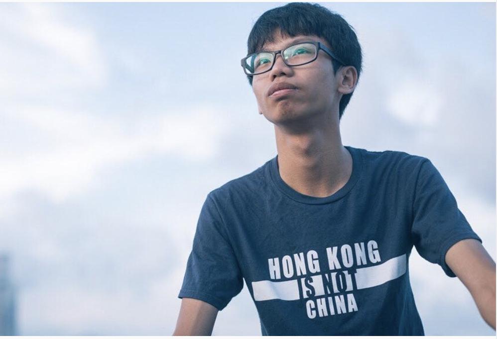 民主派組織「學生動源」前召集人鍾翰林被捕。這是依「港區國安法」成立的港警國安處成立以來,首度採取拘捕行動。(鍾翰林instagram)