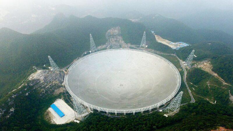 中共無視警告,宣佈自3月31日起向全球開放「天眼」。(credit should read STR/AFP/Getty Images)