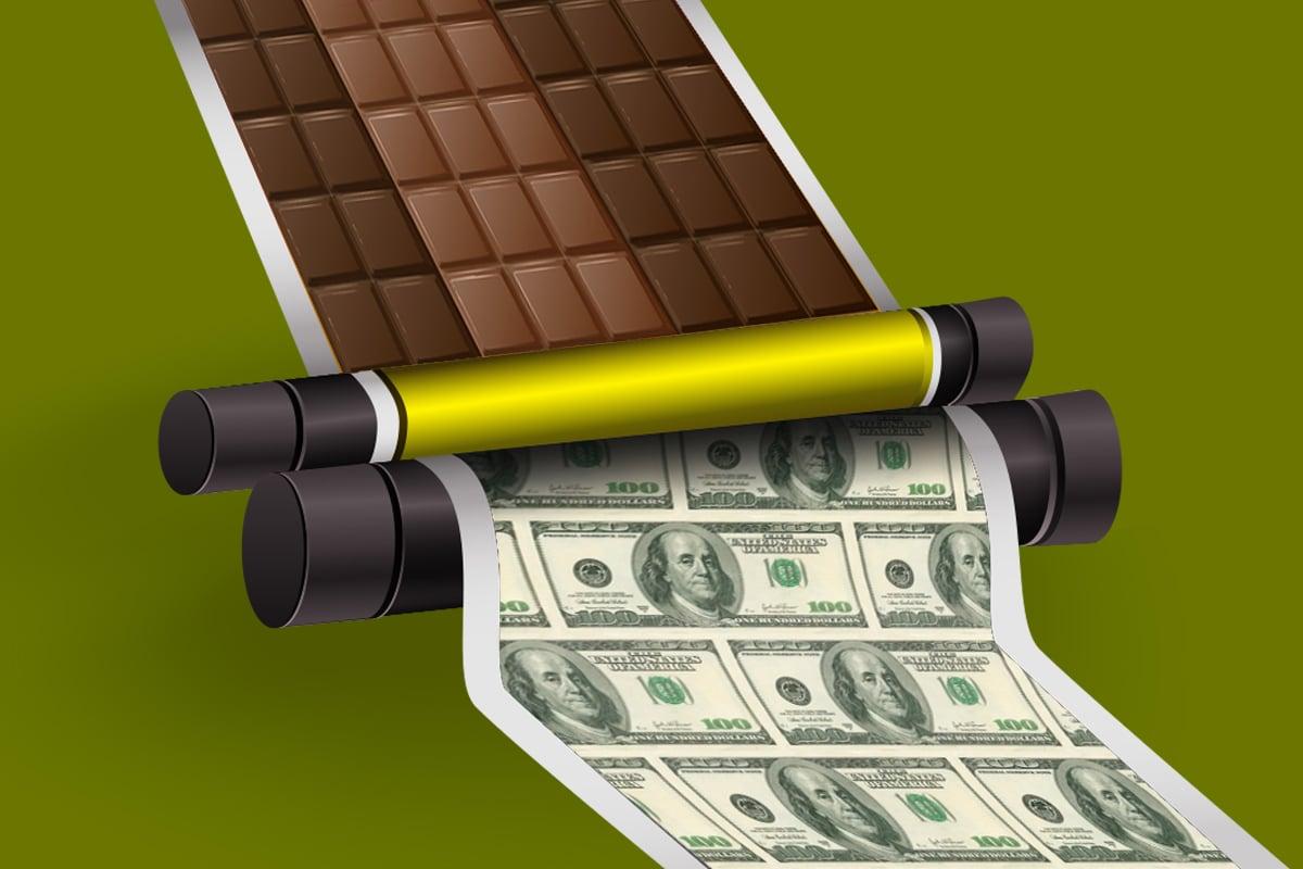股神畢菲特的印鈔機,竟是一家100年的糖果公司?畢菲特爲何稱「時思糖果」(See's Candies)為「夢幻投資」,不管價格多高都不會賣掉它?(大紀元製圖)