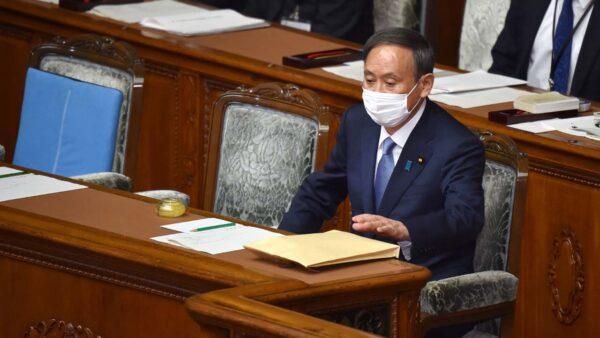 日本首相菅義偉。(KAZUHIRO NOGI/AFP via Getty Images)