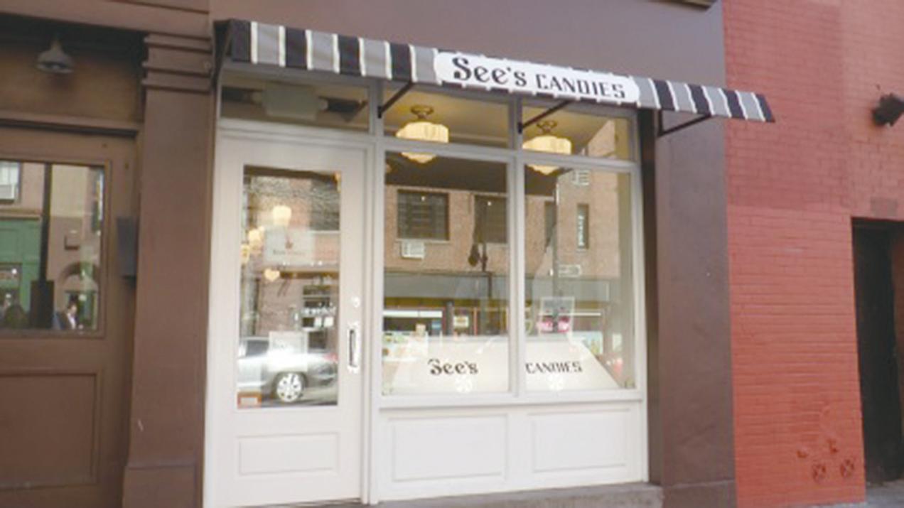 時思糖果在紐約開設的實體分店。(韓瑞/大紀元)
