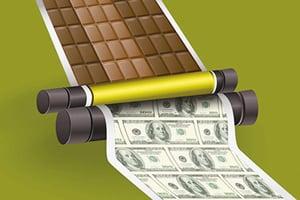 百年糖果變印鈔機 畢菲特賺錢