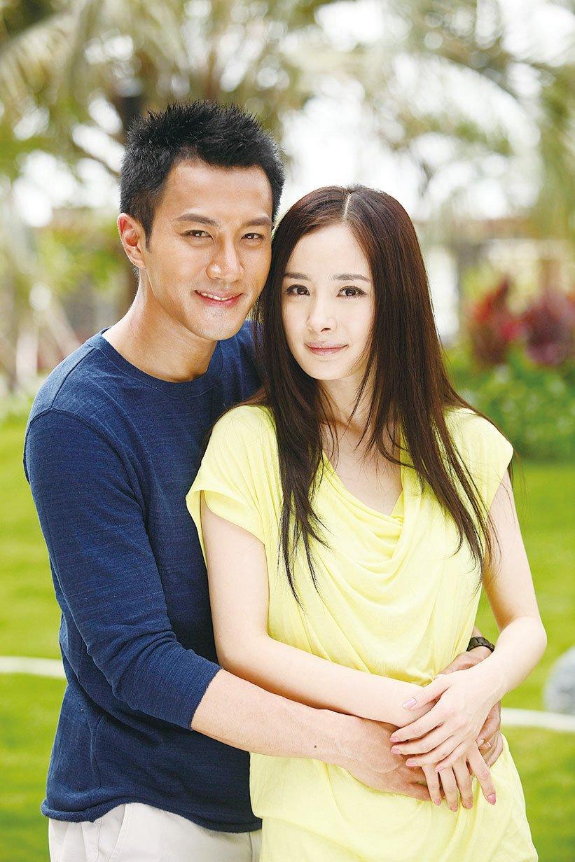 劉愷威楊冪夫婦。(資料圖片)