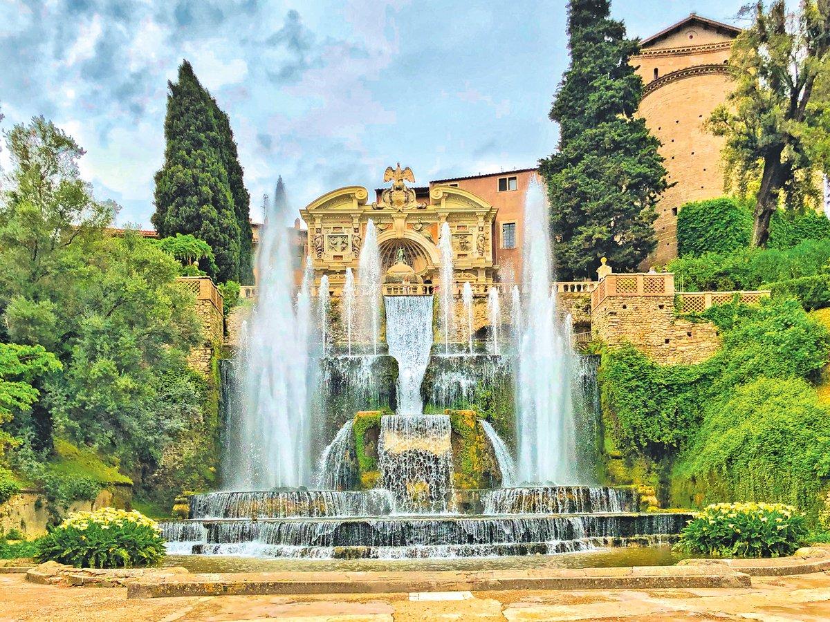 埃斯特莊園內有大大、小小500多處噴泉。