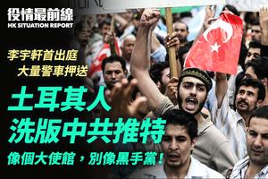 【4.8役情最前線】土耳其人 洗版中共推特:像個大使館,別像黑手黨!