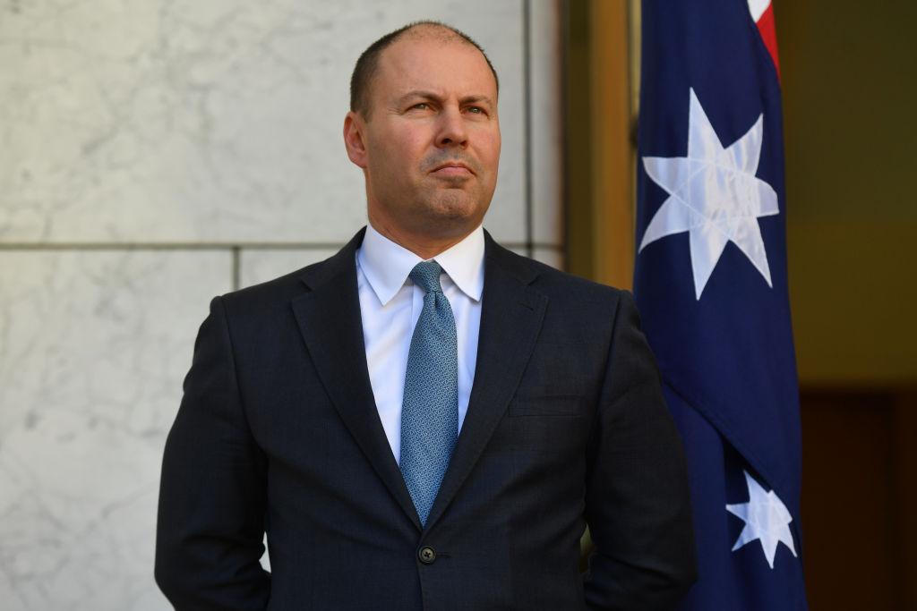 國際貨幣基金組織(IMF)上調了對疫情後澳洲經濟的展望,表示澳洲經濟恢復的速度和力度都好於今年1月的預期。澳洲財長弗萊登伯格昨(4月7日)回應指報告證實了澳洲過去一年的表現優於所有主要發達經濟體系。(Sam Mooy/Getty Images)