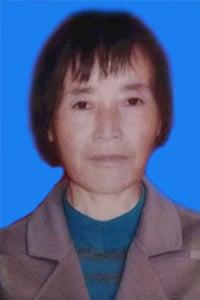 李彩娥的大兒媳張翠翠於2021年2月3日在流離失所中含冤離世。(明慧網)