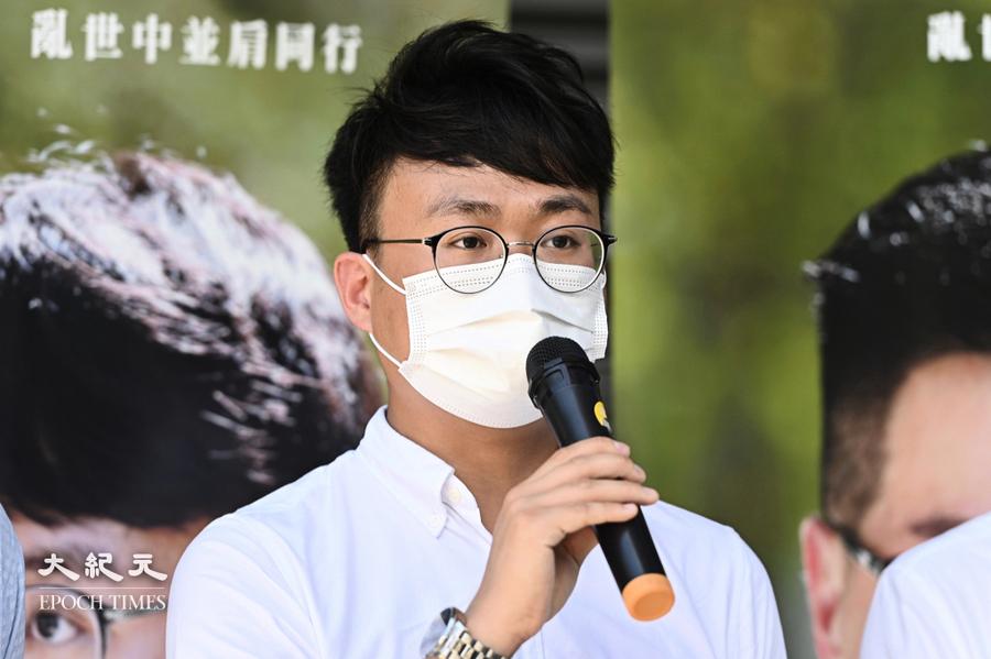 黎銘澤宣佈不會宣誓 辭任區議員並退出新民主同盟