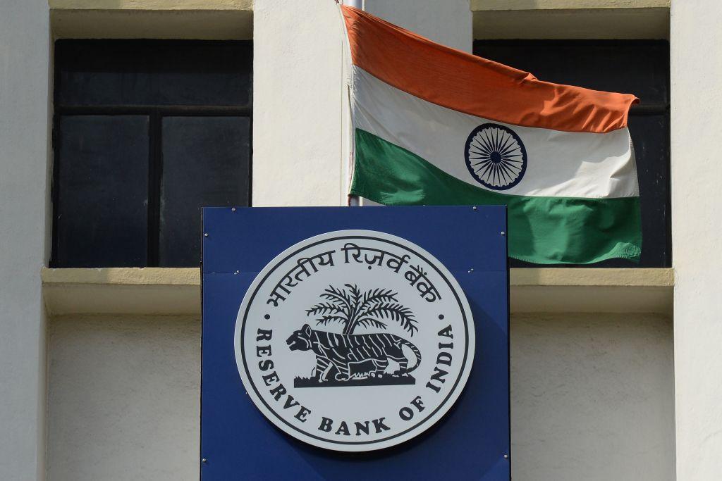 印度今(4月9日)公佈外匯儲備按年大漲21.5%至5,769億美元。(NOAH SEELAM/AFP via Getty Images)