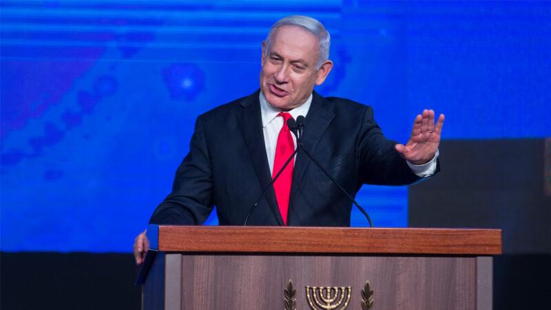 以色列總理本傑明·內塔尼亞胡(Benjamin Netanyahu)。(Amir Levy / Getty Images)