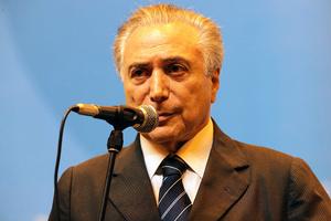 巴西代總統特梅爾宣誓就職 政壇料「右轉」