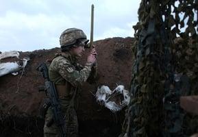 俄羅斯陳兵烏克蘭邊界 烏總統赴前線視察衝突地區