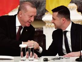 烏東危機黑海戰雲 土烏領袖會談強調和平
