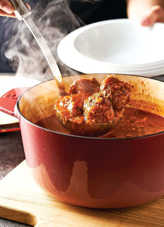 地中海燉湯 希臘番茄燉牛肉丸