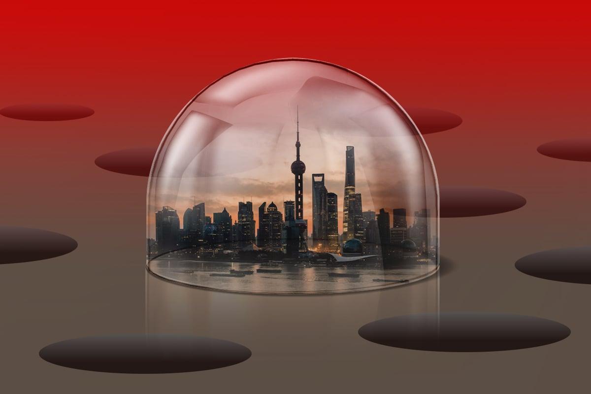 中共對外資銀行再設限,究竟為何?中國的金融開放是真是假?外資金融機構進入中國,難道是掉入了一個陷阱?(大紀元製圖)