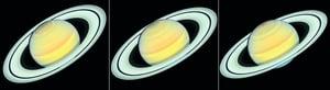哈勃望遠鏡目睹土星變色