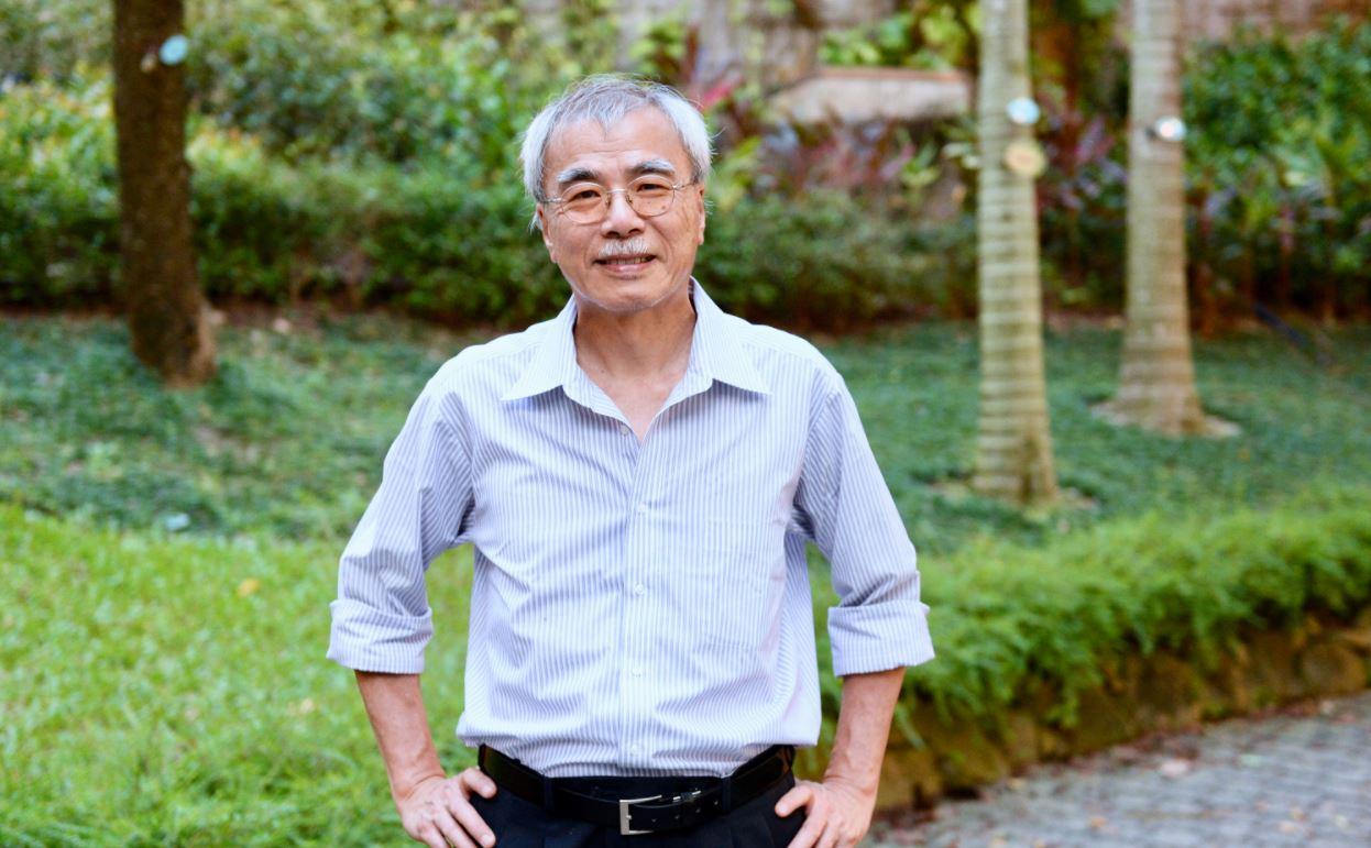 前《信報》總編、日本山梨大學教授練乙錚表示,法輪功包含了中國傳統的優秀思想,生命力很強。(宋碧龍/大紀元)